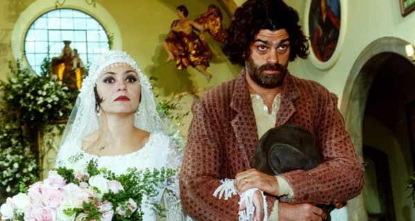 Foto de Catarina e Petruchio se casando