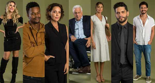Foto galeria de atores da novela
