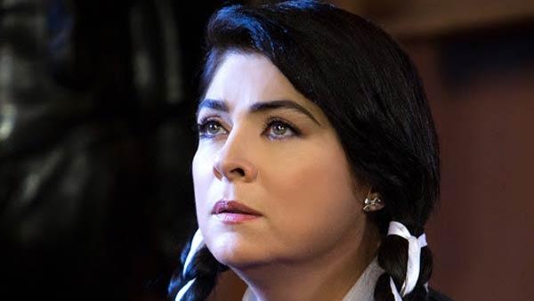 Foto de Victória Rufo, como Vitória