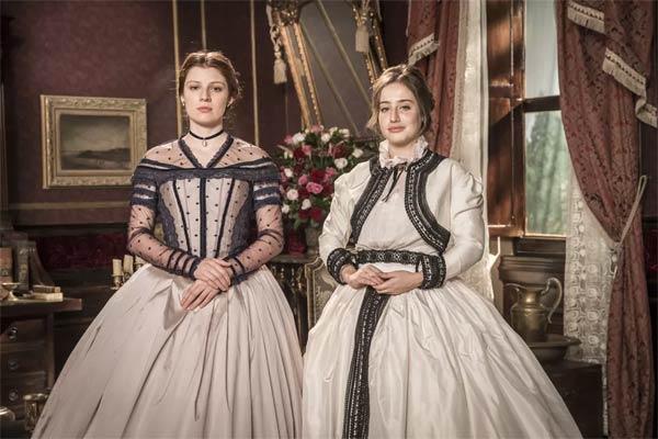 Foto das princesas Isabel e Leopoldin