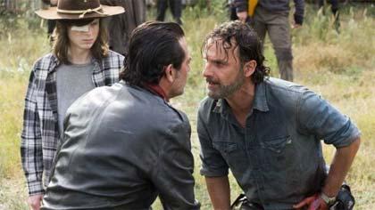 Foto de divulgação da 8ª temporada de The Walking Dead